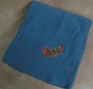 Polyester Four Horse Hitch Fleece Throw Blanket