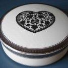 "Mikasa Heart 5"" Jewelry Box"