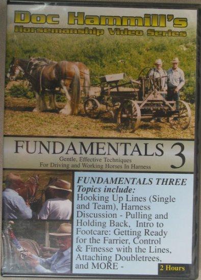 Doc Hammill's Horsemanship Video Series Fundamentals 3 - DVD