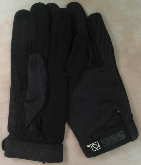 SSG All Weather Riding Glove - Black Ladies Small