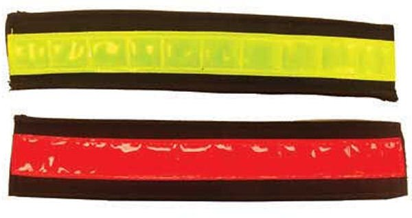 Vis Equips Reflective Riding Bands RED