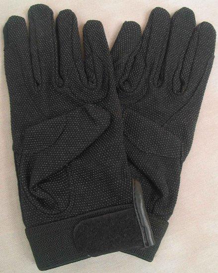 SSG Summer Gripper Driving/Riding Black Gloves - Large