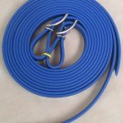 "Split Style Reins 3/4""  Heavy Weight Beta Biothane Royal Blue"