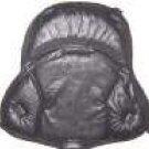 Saddle Cushion Black Western Tooled Design - Western Saddle Size