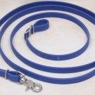 Beta Biothane Roper Reins 8 Foot, 3/4 Inch Royal Blue, 1 Snap