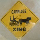 Carriage and Horse Pair Xing Sign