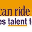 Anyone Can Ride a Horse Bumper Sticker