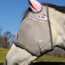 Crusader Cool Fly Mask Pink- Quarter Horse/Arab/Cob Size With Ears