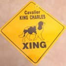 Cavalier King Charles Xing Yard Sign