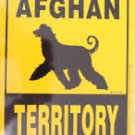 Afghan Territory Yard Sign