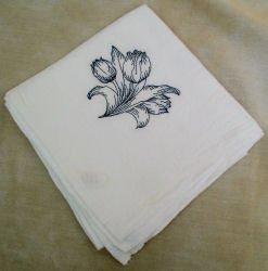 Tulip Flour Sack Dish Towel