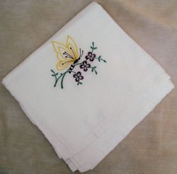 Butterfly Flour Sack Dish Towel