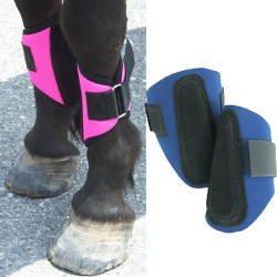 Mini Horse Splint Boots - Purple