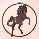 High Spirit - Rearing Horse Window Art