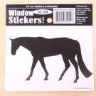 Western Pleasure Horse Window Sticker Decal