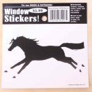 Running Horse Window Sticker Decal