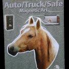 Palomino Horse Auto/ Truck/Safe Magnetic Art
