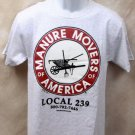 Manure Movers of America T-Shirt - Large