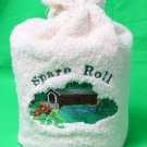 Covered Bridge Terry Spare Toilet Roll Cover