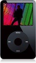 APPLE iPod 80GB:20,000 Songs- Black