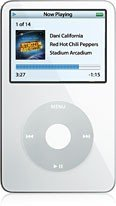APPLE iPod 80GB20,000 Songs- White