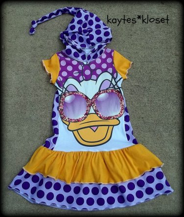 Custom Made Upcycle Tee Dress
