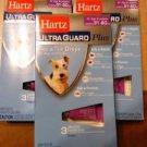HARTZ* Ultra Guard Plus FLEA & TICK DROPS 3 Months FOR DOGS 31-60lbs ( 4 PAKS)