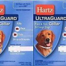 "Hartz Ultraguard Flea and Tick Large Dog Collar 26"" (2 pks)"