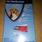 HARTZ ULTRA GUARD PLUS 3 MO. FLEA & TICK DROPS FOR DOGS & PUPPIES 16-30 LBS