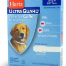Hartz Ultra Guard Flea & Tick Collar For Dogs White 26 Inch (4 PAK)