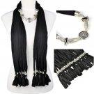 jewelry beads scarf ,NL-1842
