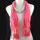 charm cotton long tassel scarf ,NL-1334C