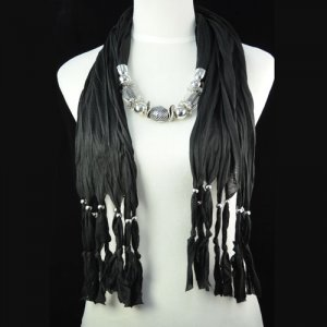 Charm necklaces scarf ,NL-1306B