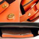 11 colors fashion woman PU Square Handbag Satchel Messager Shoulder Purse Bag