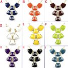 Multicolors BIB style charms necklace spring fashion jewelry for woman NL-1958