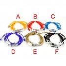 Fashion tube beads Bracelets multi-layer frienship bracelet 6 colors BR-1289