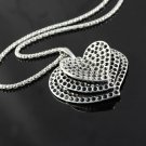 Love heart pendant necklace alloy chain fashion necklace fashion jewelry NL-1194