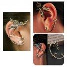 1 pcs alloy gothic wind dragon earrings cuff cool punk jewelry fashion ER590