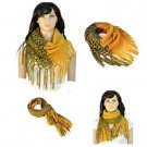 New winter warm knitting scarf multiusage scarf with tassel ending gift NL-1929