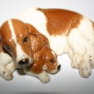 Royal Doulton Spaniel and Pup Complete with Box