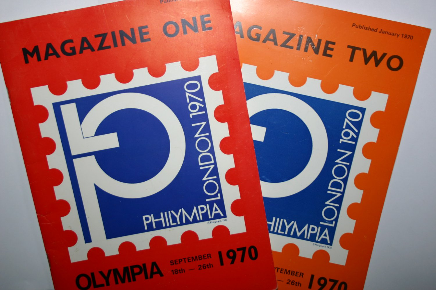 Rare Magazine One and Two Olympia 1970 Published June 1969