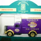 Lledo Rare Collectors 140th Co-Op Anniversary Clarey's Of Lincoln Ice Cream