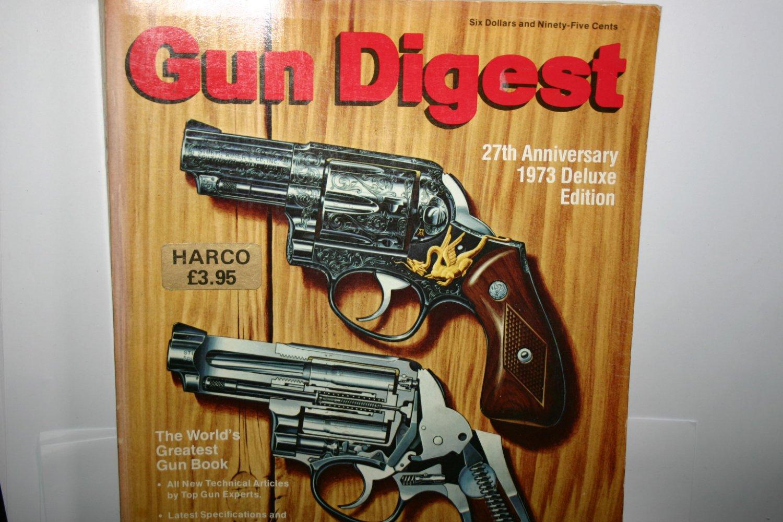 Rare Gun Digest 27th Anniversary 1973 Deluxe Edition  Worlds Greatest Gun Book