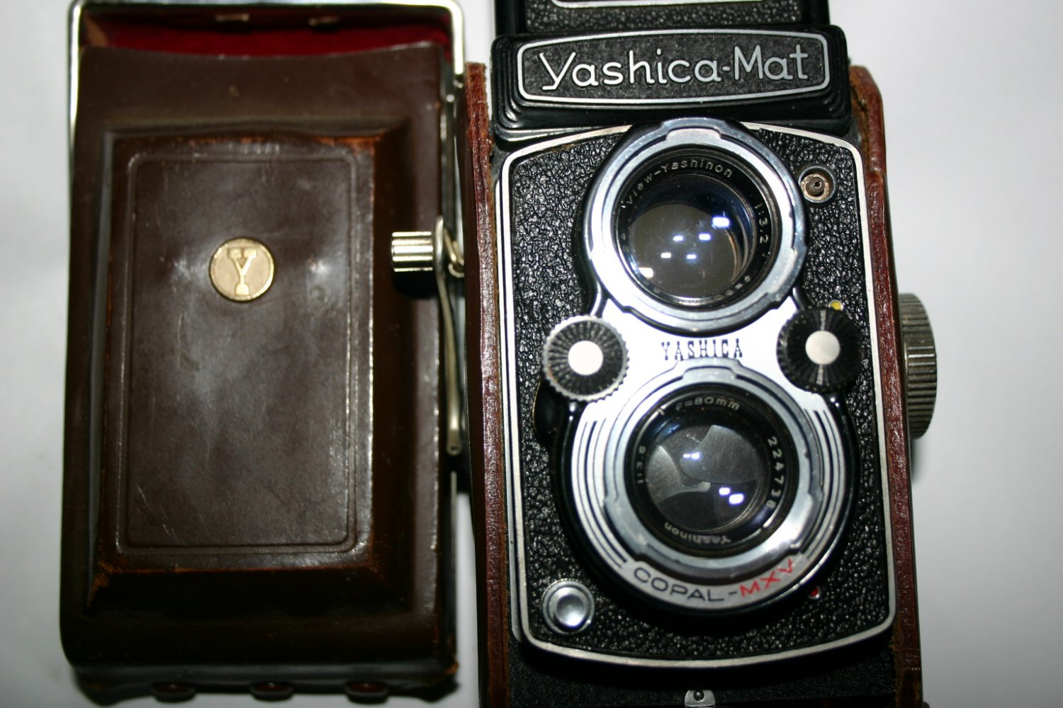 Rare 1957 YASHICA MAT COPAL MXV 6�6 TLR TWIN LENS REFLEX JAPANESE CAMERA