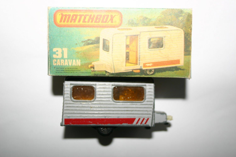 Matchbox 31 Caravan Vintage Collectors Model