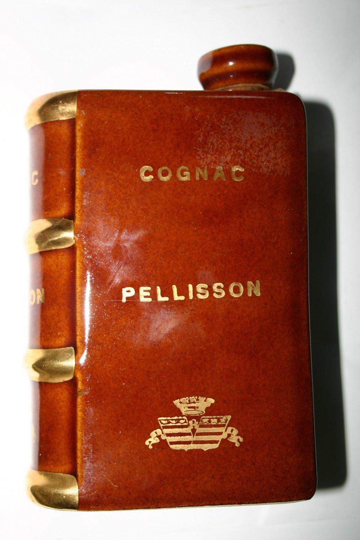 Rare Vintage Camus Porcelain Cognac Pellisson Book Bottle