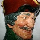 Rare Large Antique Dick Turpin Royal Doulton Character Toby Jug