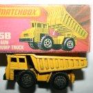 Vintage Matchbox 58 Faun Dump Truck With Box