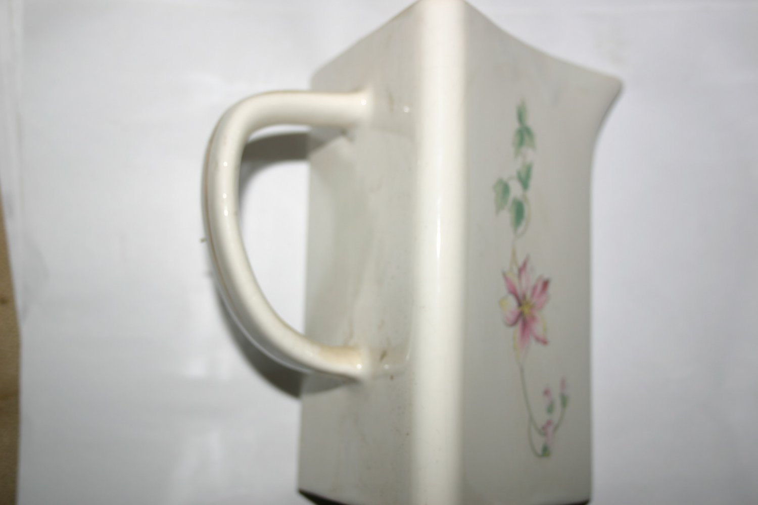 Floral Water Jug For Whiskey and Other Spirits