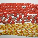Totally Groovy Vintage 1970's Beaded Necklaces Set Of 3